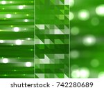 set of abstractions picture.... | Shutterstock . vector #742280689