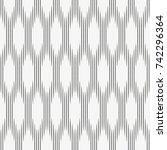 vector seamless pattern.... | Shutterstock .eps vector #742296364