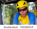 Small photo of September 26, 2017. Toronto, Canada - Ukrainian cyclist Pavlo Mamontov, during Toronto Invictus Cycling Men's Road Cycling IRB2 Time Trial - Final at High Park in Toronto, ON, Canada.