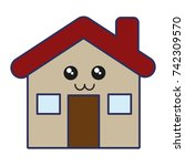 house icon image | Shutterstock .eps vector #742309570