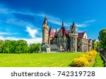 Castle In Poland Panoramic...