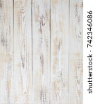 white wood background pattern... | Shutterstock . vector #742346086