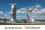 The Kelpies  Falkirk  Scotland