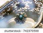 vintage jewelry  | Shutterstock . vector #742370500