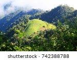 doi mon ngo  chiang mai ... | Shutterstock . vector #742388788