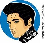 Elvis Presley Vector...