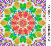 Rainbow Kaleidoscope Fruit...