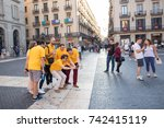 Barcelona  spain  oct. 13  2017 ...