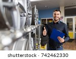 business  maintenance and... | Shutterstock . vector #742462330