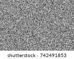 digital glitch noise template.... | Shutterstock .eps vector #742491853