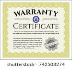 yellow formal warranty