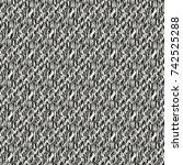 abstract brushed mottled... | Shutterstock .eps vector #742525288