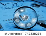 accounting. | Shutterstock . vector #742538296