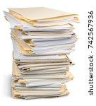stack. | Shutterstock . vector #742567936