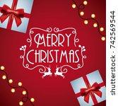 Merry Christmas Card Invitatio...