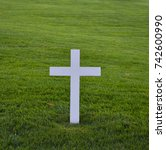 Isolated Wooden White Christian ...
