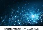 wireless technology concept | Shutterstock . vector #742636768