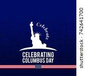 columbus day.   Shutterstock .eps vector #742641700