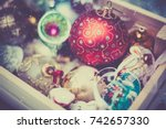 Christmas Decoration Balls In A ...