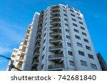buildings in tokyo | Shutterstock . vector #742681840