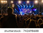 thessaloniki   greece   sept 17 ... | Shutterstock . vector #742698688