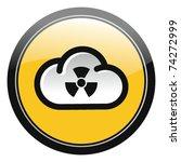 radioactive cloud | Shutterstock .eps vector #74272999
