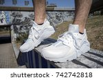 milan  italy   july 22  2017 ... | Shutterstock . vector #742742818