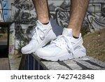 milan  italy   july 22  2017 ...   Shutterstock . vector #742742848