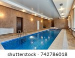 pool | Shutterstock . vector #742786018