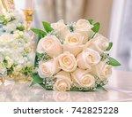 bouquet of flowers | Shutterstock . vector #742825228