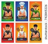 chef illustration | Shutterstock .eps vector #742845226