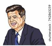 John F Kennedy Portrait....