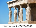 Figures Of The Caryatid Porch...