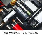vaping device   Shutterstock . vector #742893256