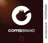 Coffee Logo. Turkish Coffee Pot.