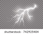 Realistic Vector Lightning On...
