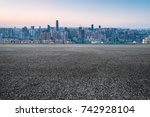 cityscape and skyline of... | Shutterstock . vector #742928104