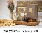 soft focus and background... | Shutterstock . vector #742962388