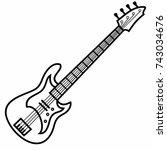 Bass Guitar Musical Instrument...