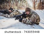 group of special forces weapons ...