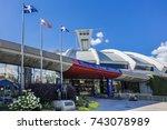 montreal  canada   august 13 ... | Shutterstock . vector #743078989