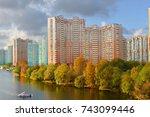 moscow  russia   oct 24  2017 ... | Shutterstock . vector #743099446