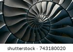 Turbine Blades Wings Spiral...