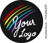 your logo | Shutterstock .eps vector #743186359