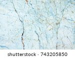 colorful marble texture... | Shutterstock . vector #743205850