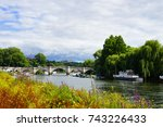 richmond river | Shutterstock . vector #743226433