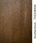 rust textures and linear... | Shutterstock . vector #743238406