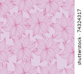floral seamless pattern | Shutterstock .eps vector #74324317