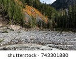 Small photo of Massive Washout, Mount Rainer National Park, Washington, USA