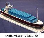 Miniature Model Of A Ship....